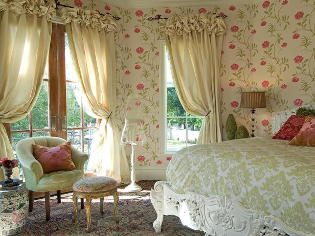 Как сшить шторы в стиле прованс своими